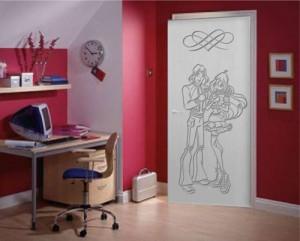 дверь для девочек