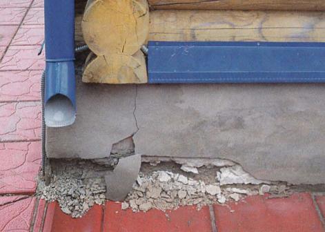 как устранить трещину в доме и фундаменте это время было