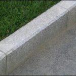 Бордюрный камень в строительстве