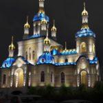 Светодиодное подсветка церквей и храмов
