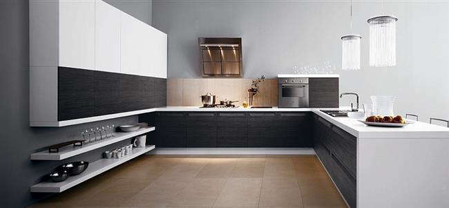 11 стильных итальянских кухонь в минималистическом стиле