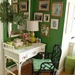 15 великолепных домашних кабинетов с интерьером в экостиле