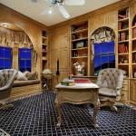 25 стильных домашних кабинетов с интерьером в средиземноморском стиле
