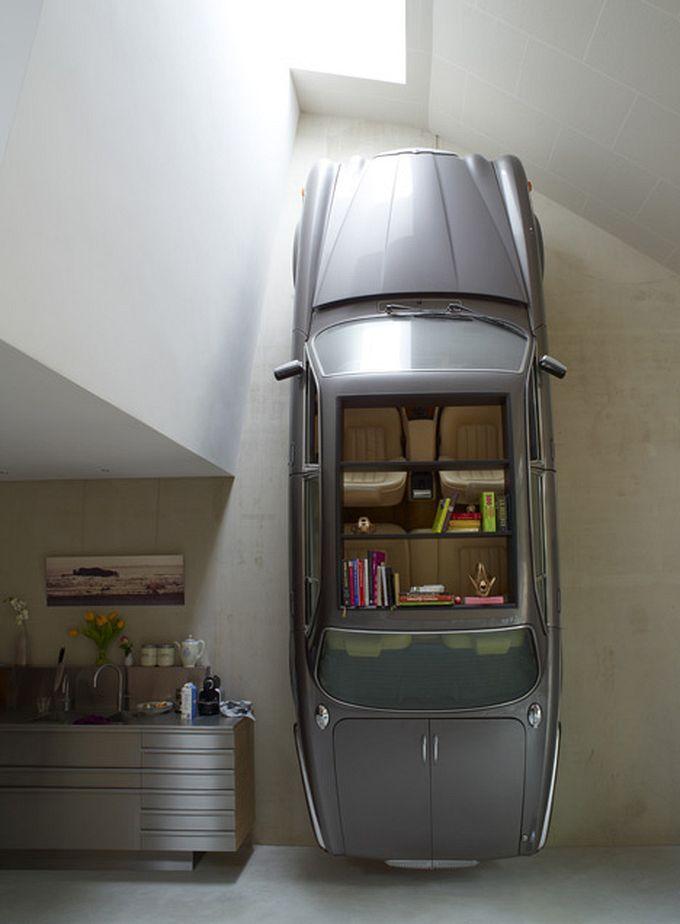 Автомобили в интерьерах