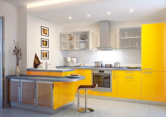 Барная стойка для маленькой кухни: стильная экономия пространства