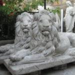 Бетонные скульптуры – прекрасный элемент декора любого садового участка