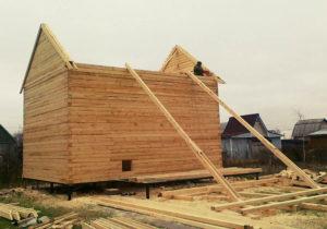 Брус строганный и профилированный для строительства дома
