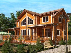 Брусовые дома – идеальное решение для постоянного проживания