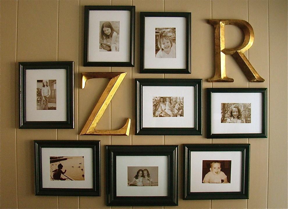 Буквы в домашнем декоре