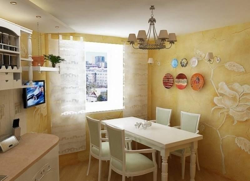 Чем покрыть стены на кухне: выбираем материал правильно