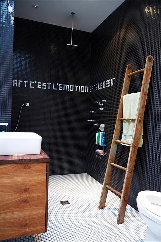 Черный цвет в интерьере: 20 эксклюзивных ванных комнат классического черного цвета