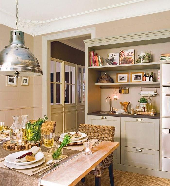Делаем интерьер кухни 12 кв м оригинальным и удобным