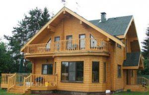 Деревянные дома: широкое разнообразие вариантов