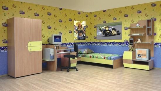 Детская комната для школьника – от первого класса до выпускного