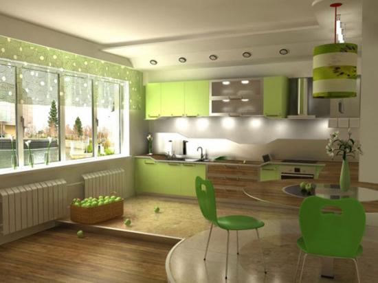 Дизайн кухни совмещенной с гостиной в хрущевке