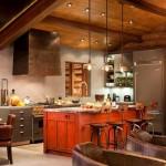 Дизайн кухни в стиле хай-тек