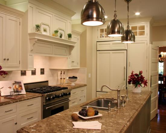 Дизайн кухни в стиле кантри.