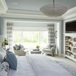 Дизайн потолка в интерьере спальни