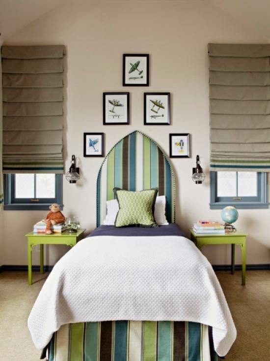 Дизайн штор для детской комнаты