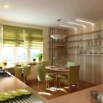 Дизайн штор для кухни