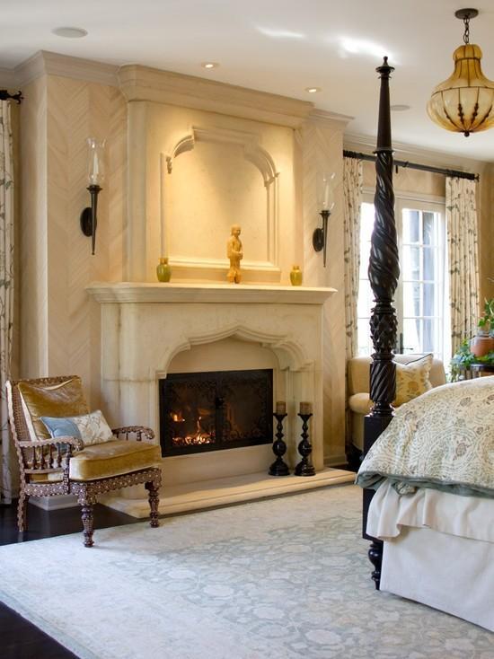 Дизайн спальни в классическом стиле