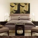 Дизайн узкой спальни