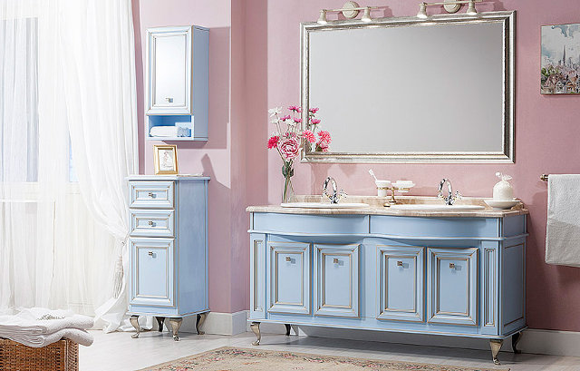 Дизайн ванной комнаты в стиле прованс: романтичный и нежный интерьер