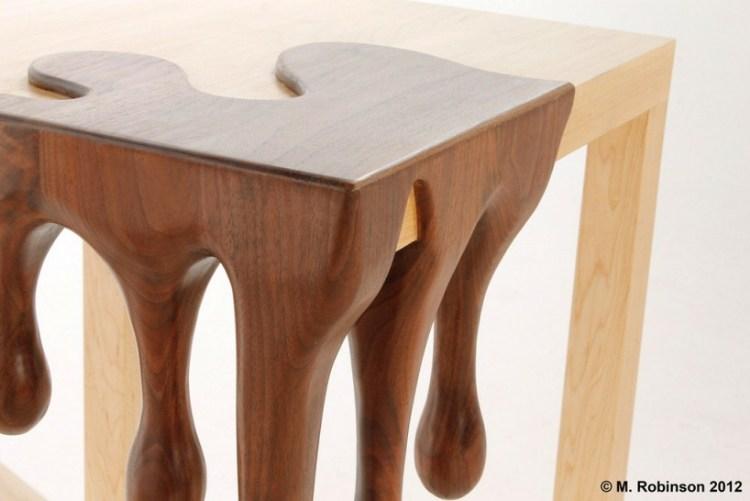 Дизайнерский столик от Метта Робинсона
