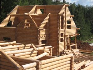 Древесина – идеальный материал для строительства дома