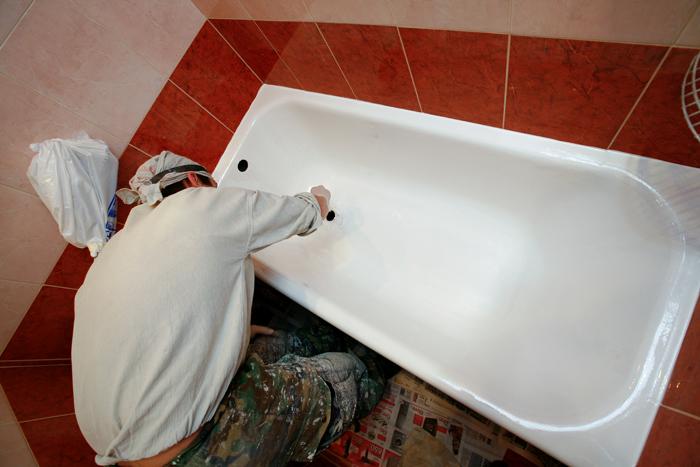 Эмалировка ванн: советы мастеров