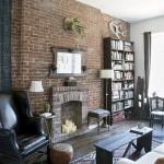 Фальш-камин: уют загородного дома в городской квартире