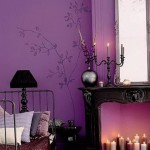 Фиолетовый цвет — бог в интерьере