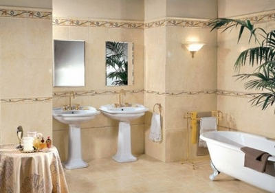 Фото-примеры оформления ванной комнаты плиткой: выбор стиля и материала, идеи отделки