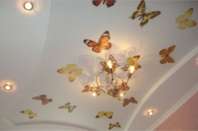 Фото варианты потолков из гипсокартона в спальне — полезное наглядное пособие