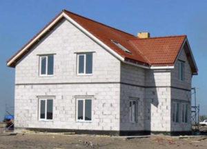 Газобетон – идеальный материал для строительства загородной жилплощади