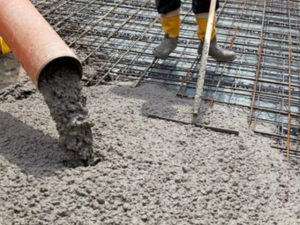 Использование бетона в строительных работах