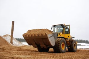 Использование песка в строительных работах