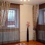 Используем ниточные шторы в интерьере