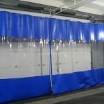 Из чего бывают шторы для автомойки
