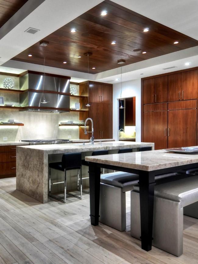 Как оформить подвесной потолок: 17 стильных дизайнерских идей для дома и квартиры