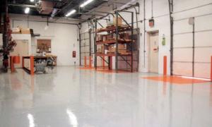 Как подобрать наливной пол для склада