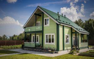 Как покрасить деревянный фасад дома