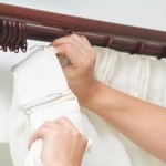 Как повесить шторы на крючки