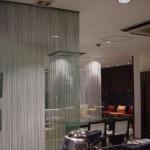 Как применяются шторы лапша в интерьере