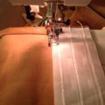 Как пришить к шторе ленту с петлями: инструкция от швеи