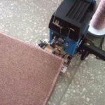 Как сделать оверлок коврового покрытия