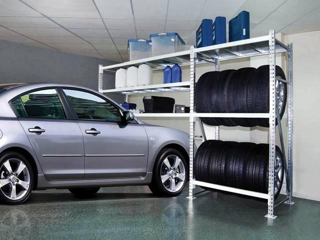 Как сделать полки в гараже?