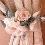 Как сшить цветок для штор своими руками