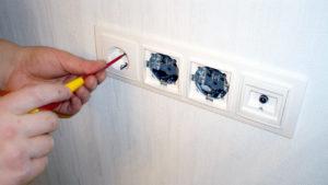 Как устанавливать розетки и выключатели