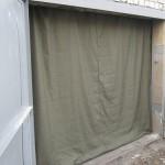 Как выбрать брезентовые шторы в гараж